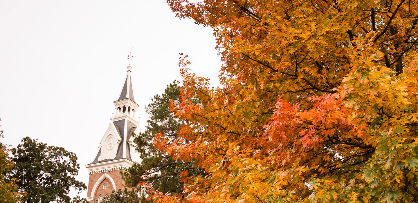campus fall